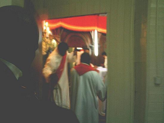 Rituels de bénédiction de la sacristie
