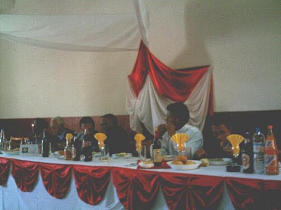 La table d'honneur du 140eme anniversaire