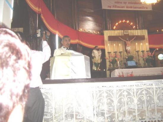 L'autel de l'Eglise
