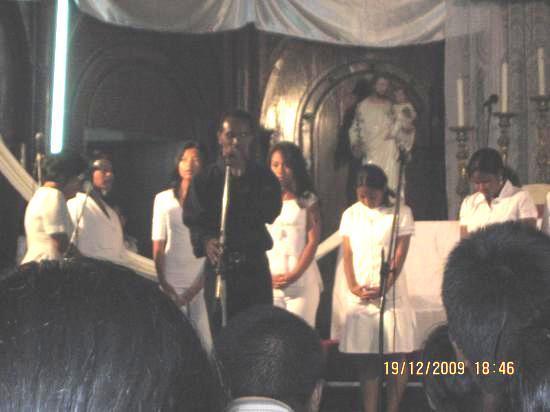 Membres de l'ODAM [Onjan-Drafitra-Antoko Mpihira, St Joseph Mahamasina]