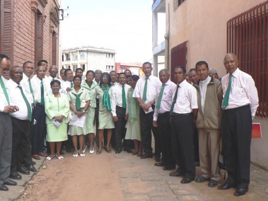 Fête Mgr J. de Dieu Raoelison 2011